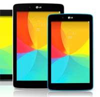 LG تعلن عن ثلاث أجهزة لوحية مختلفة المقاسات