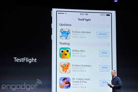 تحسين الأبستور في IOS 8