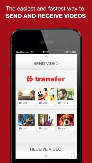 تطبيق Video and Photo Transfer wifi app
