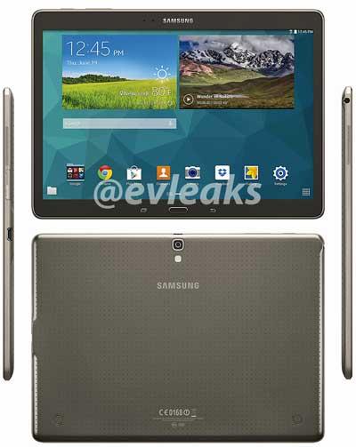 صورة مسربة لجهاز Galaxy Tab S 10.5