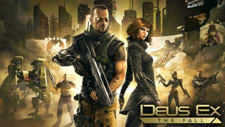 كود تحميل مجاني للعبة Deus Ex: The Fall