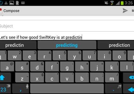 تطبيق لوحة المفاتيح SwiftKey Keyboard