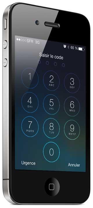 ثغرة في الأيفون لتجاوز قفل الجهاز بالأرقام السرية