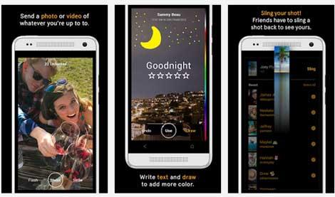 تطبيق Slingshot من فيسبوك