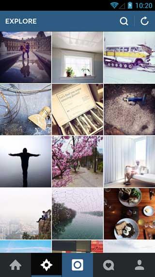 تحديث تطبيق instagram