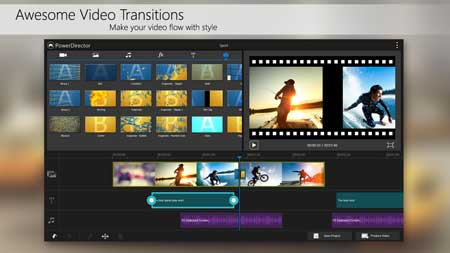 تطبيق PowerDirector – Video Editor