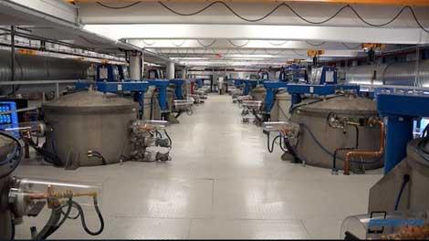 مصنع شاشات الزفير