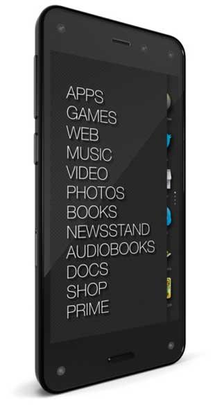 كاميرات هاتف Amazon Fire Phone