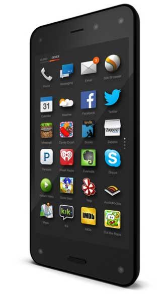 واجهة هاتف Amazon Fire Phone