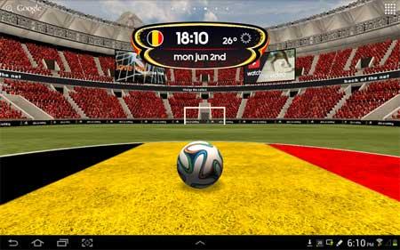 تطبيق adidas 2014 FIFA World Cup LWP