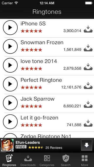 تطبيق Best Ringtones Downloader PRO تحميل نغمات الأيفون