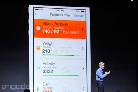 ميزة HealthKit في iOS 8