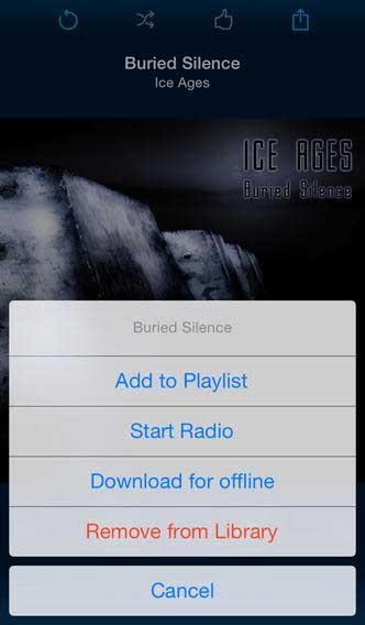 تطبيق G-Ear Player حفظ مقاطع يوتوب