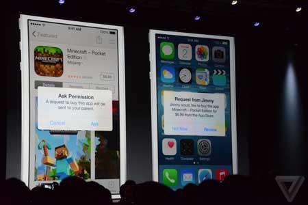 ميزة المشاركة العائلية في iOS 8
