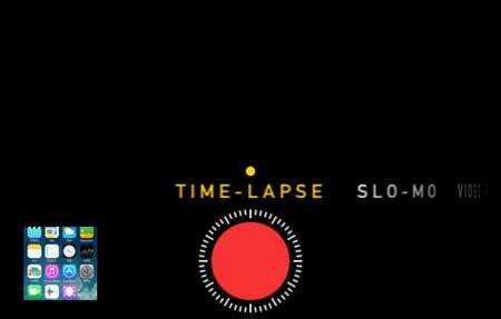 ميزة Time Lapse لتصوير فيديو بطيء