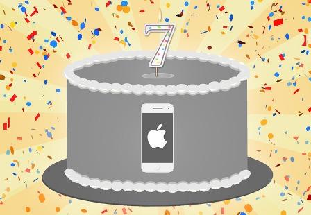 الآيفون : 7 سنوات من النجاح !