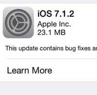 Photo of آبل تطلق رسميا التحديث الجديد iOS 7.1.2، ما الجديد والمميزات ؟