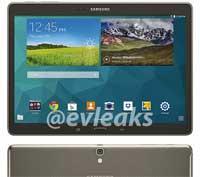 صور ومواصفات مسربة لجهاز سامسونج Galaxy Tab S 10.5