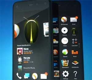 أمازون تعلن رسميا عن جهاز Amazon Fire phone ثلاثي الأبعاد