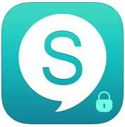 التطبيق المميز Sicher البديل للواتس اب الآن في متجر ابل ومجاني !!