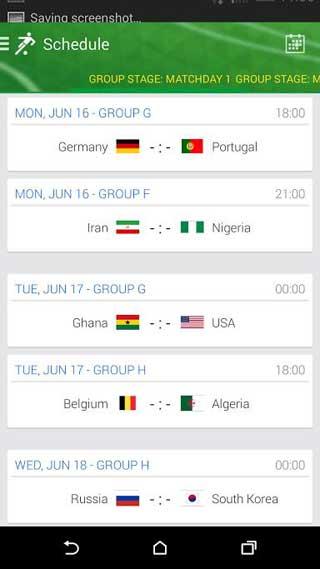 تطبيق Onefootball Brasil - World Cup