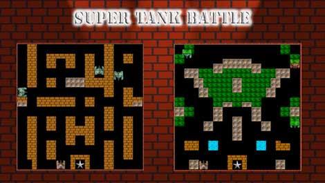 لعبة Super Tank Battle الشهيرة على الأيفون