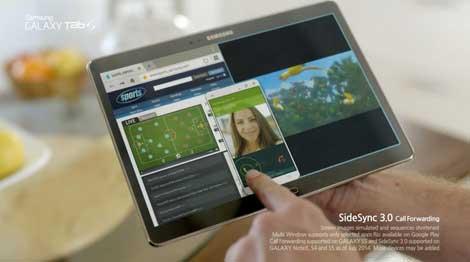 سامسونج تعلن عن مزايا Galaxy Tab S