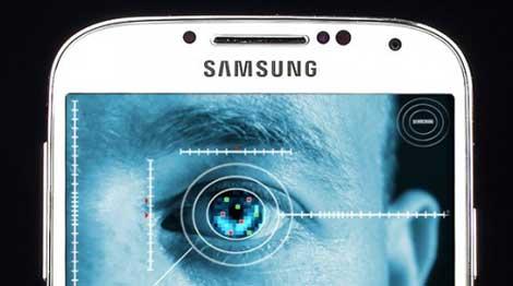 هاتف Galaxy Note 4 قد يتعرف على بصمات العين !