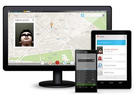 تطبيق Theftie - Find my phone لتتبع جهازك والتحكم فيه عن بعد
