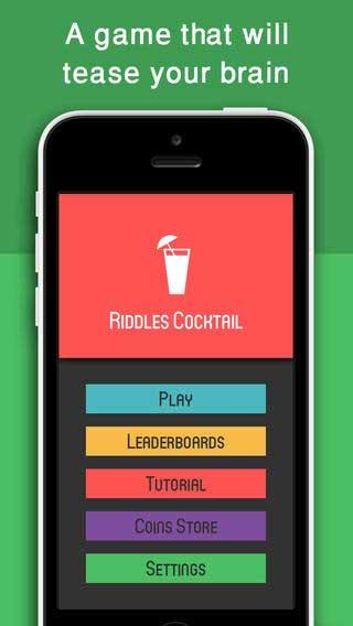 لعبة Riddles Cocktail