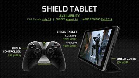 الجهاز اللوحي Nvidia Shield للألعاب