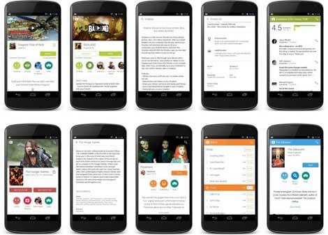 جوجل تبدأ بتحديث متجر البرامج جوجل بلاي