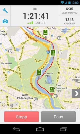 تطبيق RunKeeper - GPS Track Run Walk للأندرويد لمتابعة نشاطك الرياضي