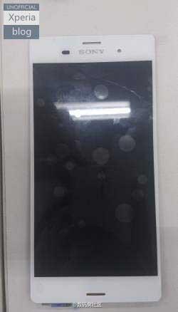 صورة مسربة لجهاز سوني Xperia Z3