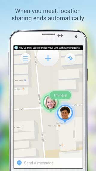 تطبيق Jink Beta لمعرفة مكان أصحابك للأندرويد