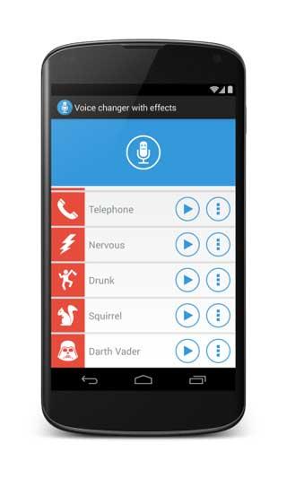 تطبيق Voice changer with effects لتغيير الصوت !
