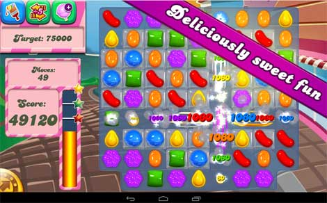 لعبة Candy Crush Saga للأندرويد