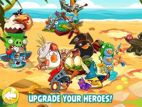 لعبة Angry Birds Epic للأندرويد