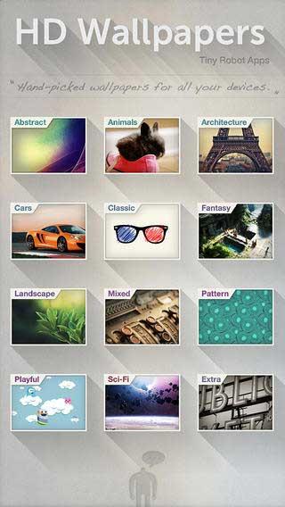 تطبيق HD Wallpapers 2