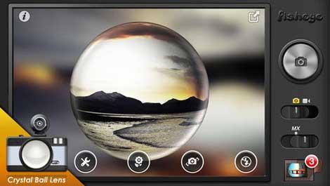 تطبيق Fisheye Pro لالتقاط صور بخاصية عين السمكة