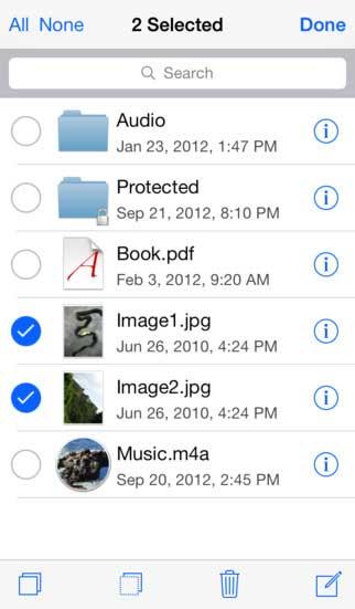 تطبيق USB Disk مدير ملفات للأيفون والآيباد