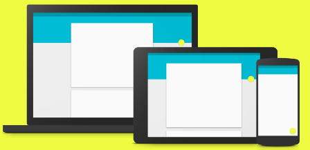 Android L : واجهة Material Design
