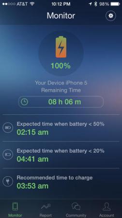 تطبيق Jackery - لمراقبة أداء البطارية