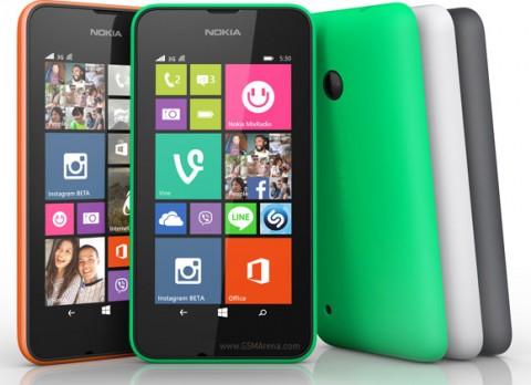 الإعلان رسمياً عن هاتف Nokia Lumia 530