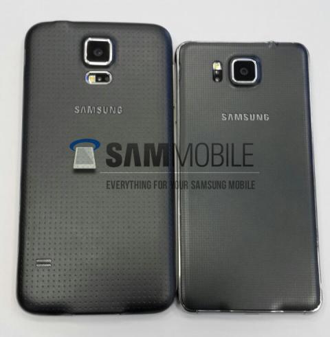 هاتف Galaxy S5 Alpha يظهر من جديد في صور حية