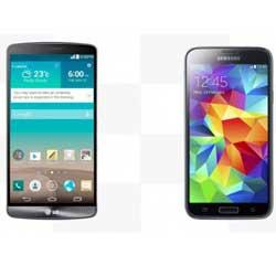 [ مقارنة ] : هاتف LG G3 ضد Galaxy S5 !
