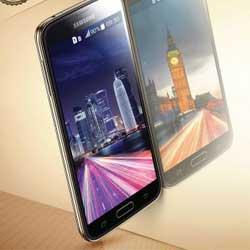 صورة إطلاق هاتف Galaxy S5 Duos بشريحتين في عدة دول عربية !