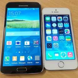 مستخدموا الأيفون يتحولون إلى شراء هاتف سامسونج جالاكسي S5