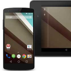 قائمة الأجهزة التي ستحصل على نظام Android L