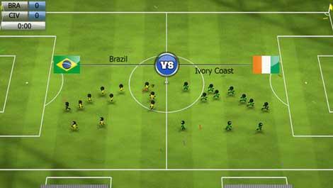 لعبة Stickman Soccer 2014 للأيفون والآيباد